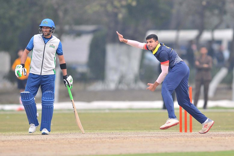 Imran Qayyum took four wickets for MCC in Pakistan