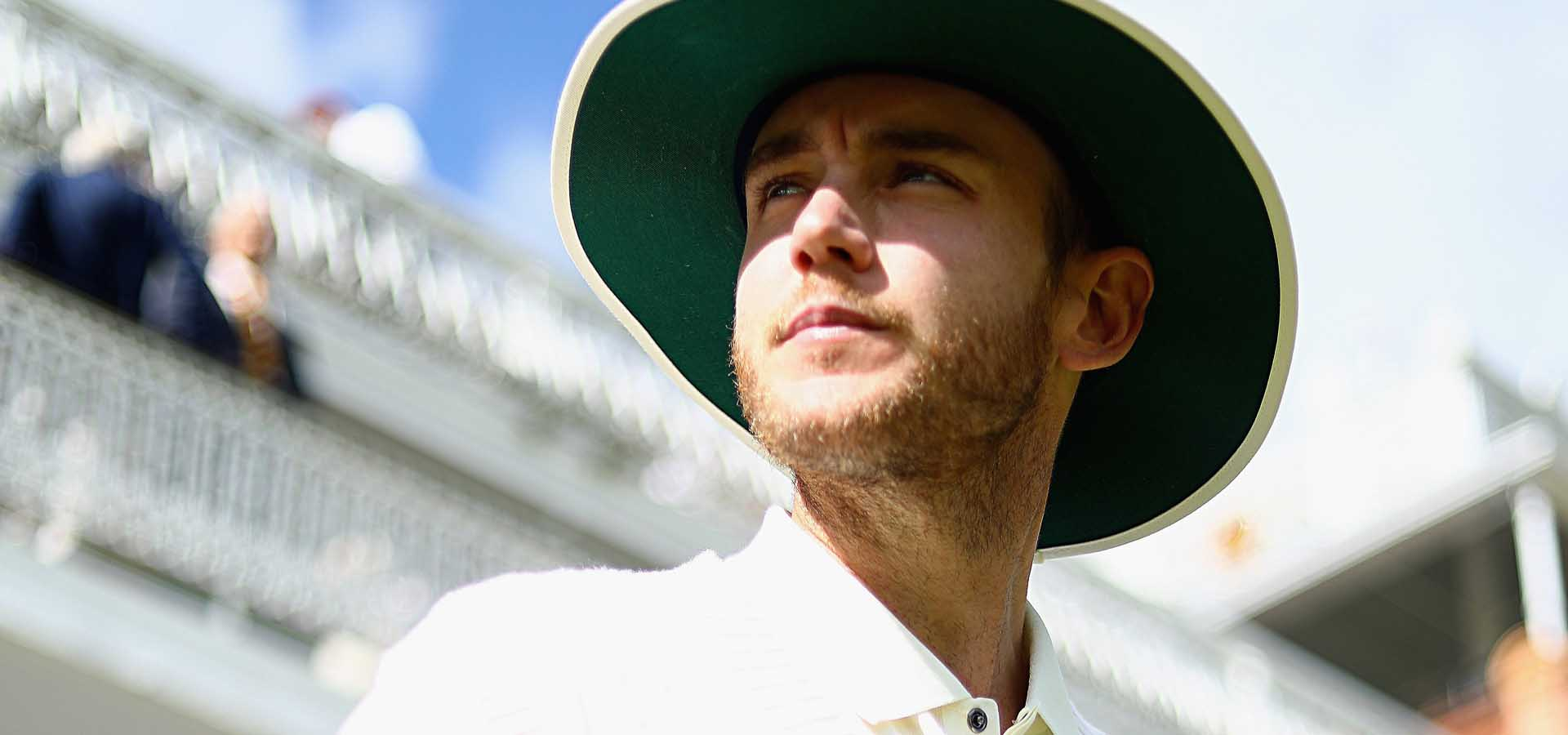 Stuart Broad at Lord's