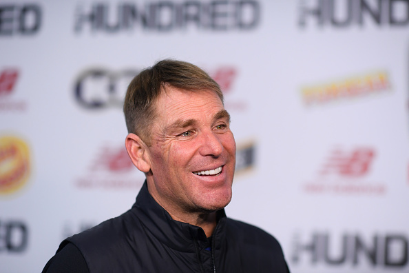 Shane Warne interviewed at The Hundred Draft