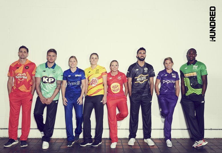 The Hundred's star players at the tournament launch
