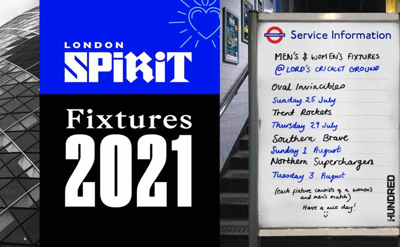 The Hundred Fixtures at Lord's