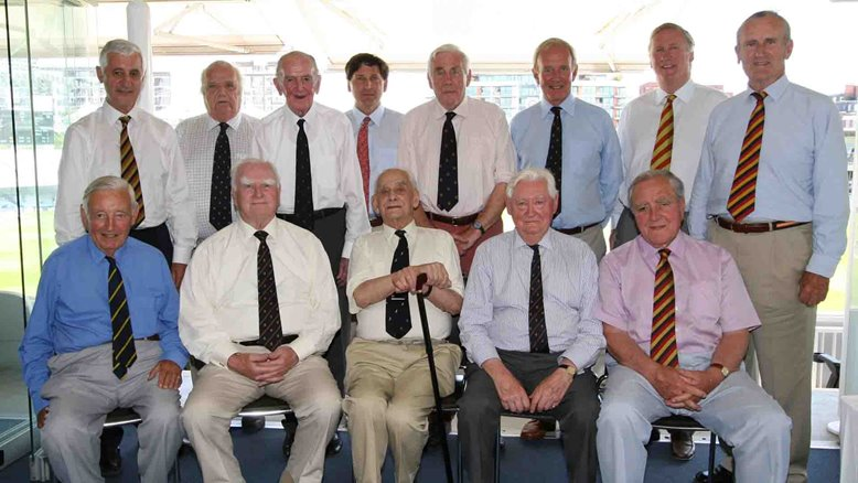 MCC Past Presidents at Lord's