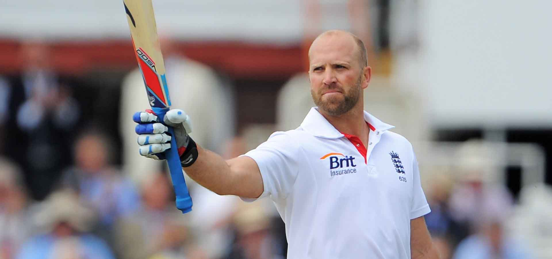 Matt Prior scores a century at Lord's