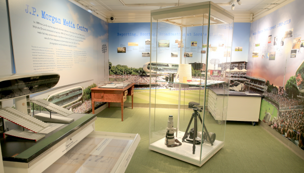The Media Centre exhibit in the MCC Museum