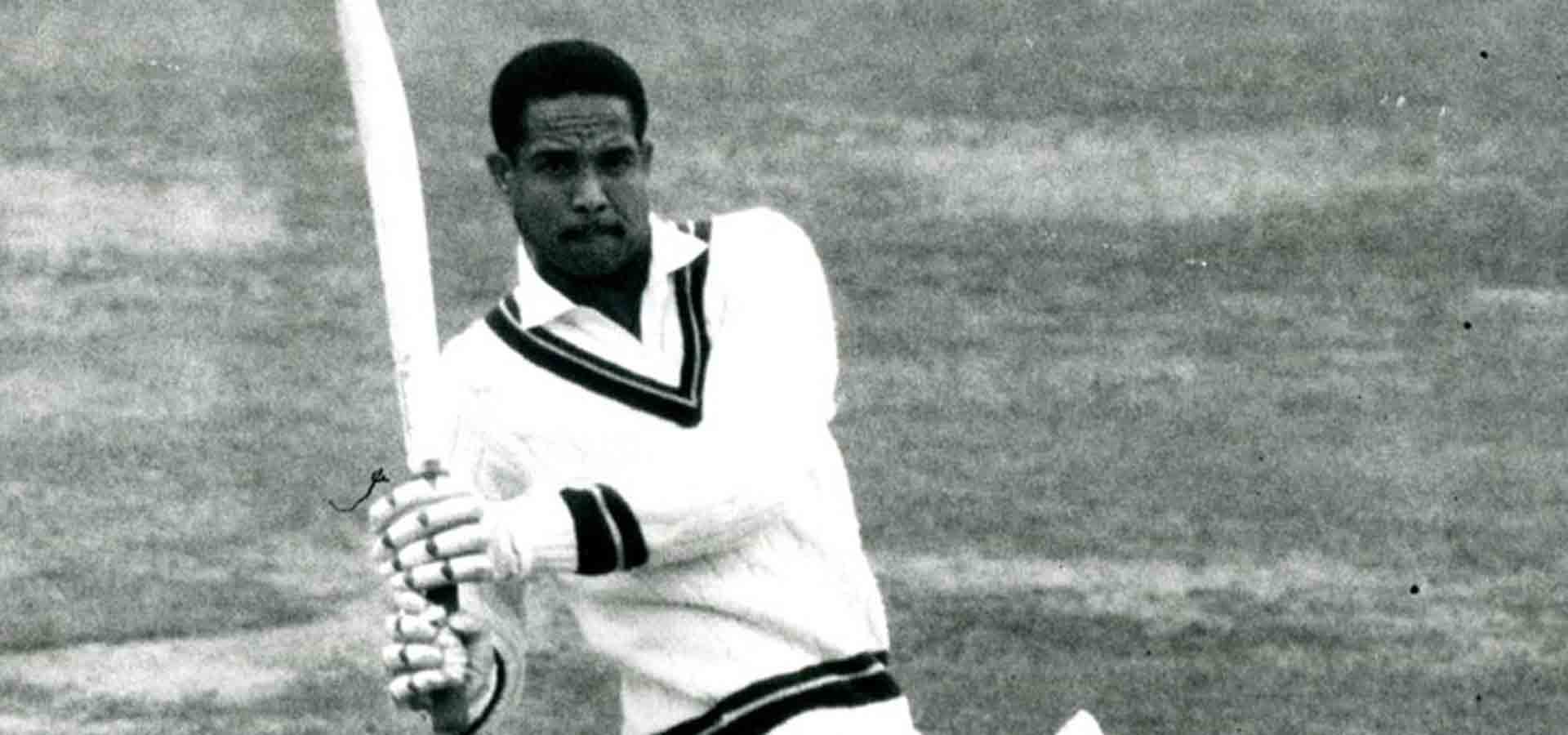 Sir Garry Sobers batting at Lord's